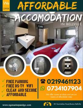 Looking for short term rental or guesthouse.