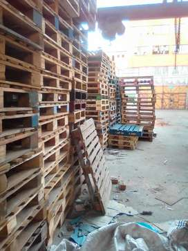 Wooden pallets for factory