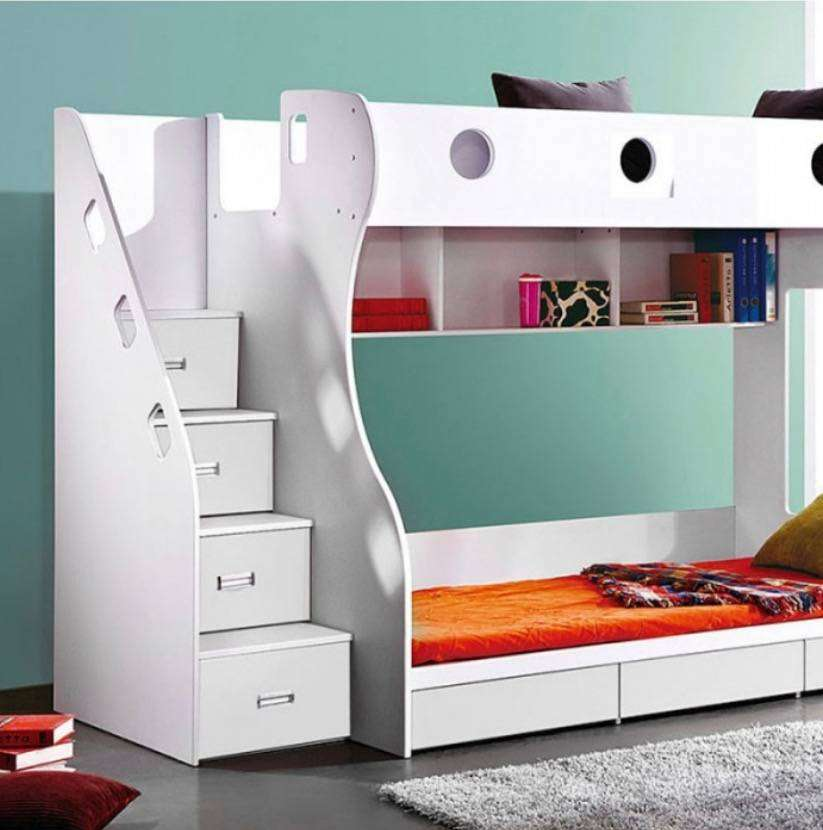 Kids Bunk Bed with Storage 0