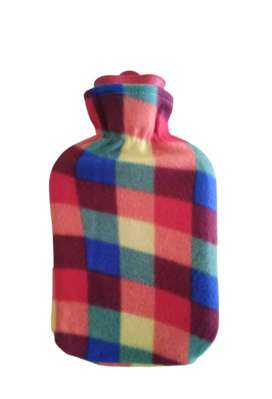 Classic Hot Water Bottle - Assorted Plush Covers
