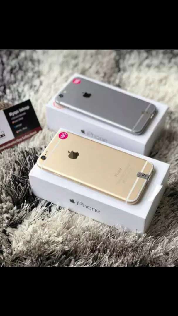 Iphone 6 16gb brand new boxed 0