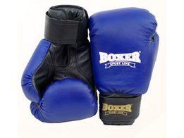 Рукавицы боксерские 8oz (кожа 0,81 мм) синие