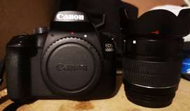 Canon 4000D 18MP DSLR Starter Bundle - Black