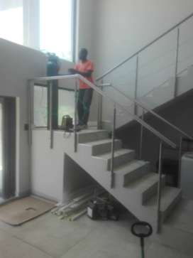 Stainless Steel and Glass Balustrades