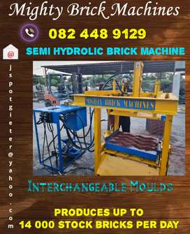 Brick making equipment