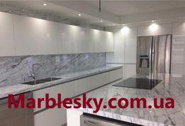 Кухонная столешница из мрамора, гранита, кварцита,искусственного камня