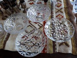 Kryształowe miseczki i talerzyki, kryształ