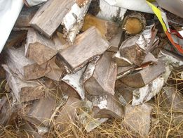 Drewno opałowe kominkowe 3 letnie brzoza sucha 40-45 cm