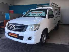 2012 TOYOTA HILUX 2.0 VVTI P/U S/C LWB WITH ONLY 121569KMS