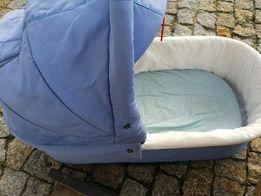Wozek dziecięcy tako jumper 3w1 gondola spacerówka błękitny niebieski