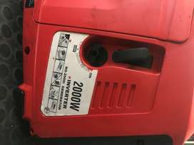 2000W INVERTER GENERATOR RG-2000I  Engine type: 4-stroke, air-cooled,