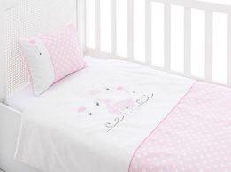 Pościel dziecięca z ochraniaczem na łóżeczko English Home Prezent