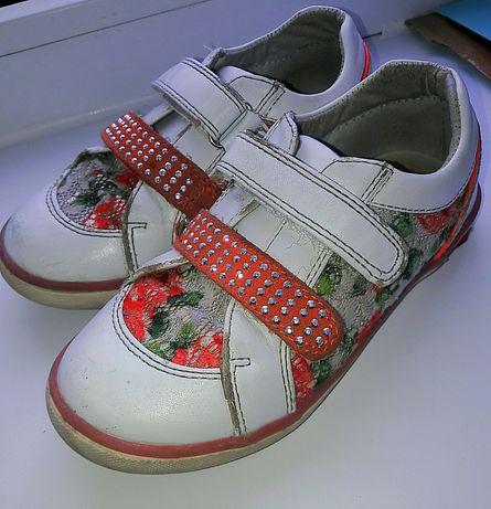 кожанные ботинки B&G на девочку р.29 Новомосковск - изображение 2