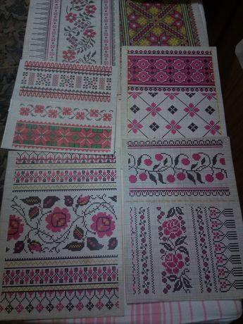 Бумажные схемы орнаментов