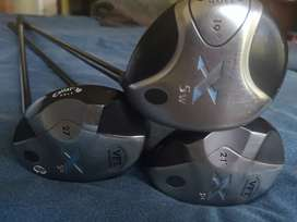 Callaway and Cleveland Golfclubs