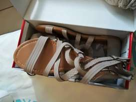 Ladies name brand tekkies and sandals
