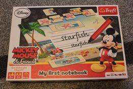 puzzle Trefl-nauka języka angielskiego My First notebook z Myszką Miki