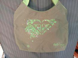 Roxy, zielona sportowa torba