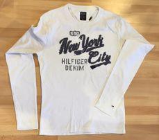 Bluzka koszulka Tommy HILFIGER biała S/M