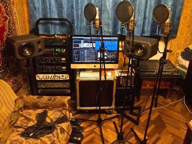 Студия звукозаписи Pro.Records - запись, сведение, мастеринг