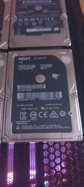 4x1TB hdds and 6TB seagate