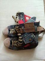 Ботинки джинсовые Lobster 36 размер