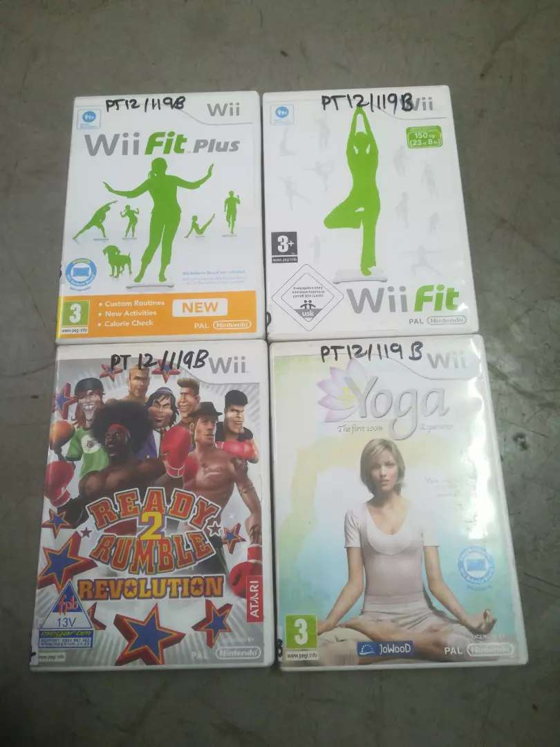 Wii games assorted 0