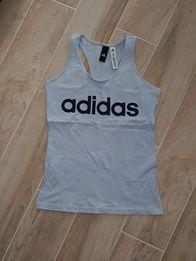 Nowa koszulka sportowa Adidas XS niebieska fitness siłownia