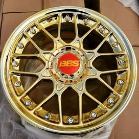 """17"""" RC2 Concave Reps in Chrome Gold"""