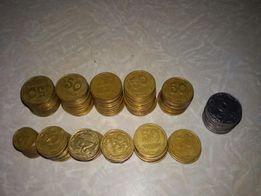 Продам монеты украины