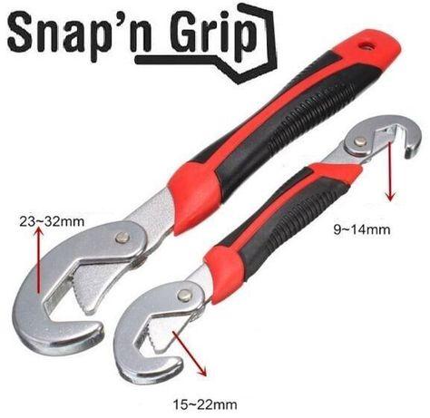 Универсальный ручной гаечный ключ snap'N Grip накидной 23 в1 разводной Житомир - изображение 3