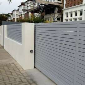 Wooden, Polyplanks, Nutec Driveway Gates And Palisade Fencing.