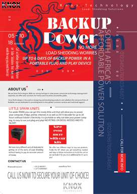 Backup Power Solutions at affordable prices!