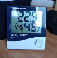 Гигрометр термометр электронный цифровой. HTC-1. Метеостанция