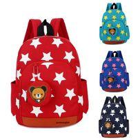 Рюкзак детский, дошкольный. Для мальчика и девочки. Звезды.
