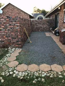 townhouse to rent in Rhodesdene carport for two vechiles