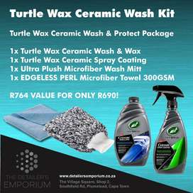 Turtle Wax Ceramic Wash Kit