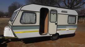 gypsey caravette 6 6 bed with full tent and big fridge and freezer in