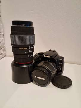 Canon EOS 400D Digital Camera with two Lenes, lens hood and Camera Bag