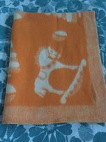 Детское шерстяное теплое одеяло