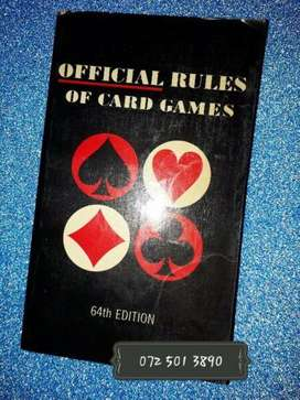 Official Rules Of Card Games - 64 Edition.