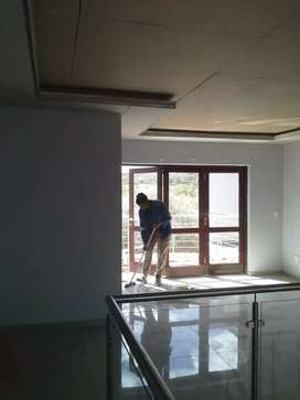 Drywall partitions and ceilings