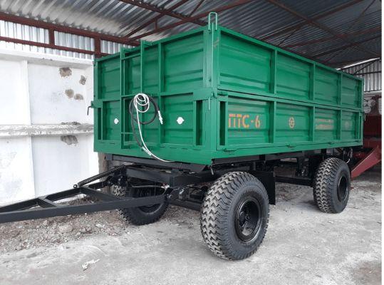 Тракторный прицеп самосвал ПТС-6 Орехов - изображение 1