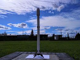 falcon 9 rakieta SpaceX model rakiety kosmiczna druk drukowanie 3d