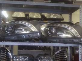 Mercedes Benz w166 ML Headlamps for sale.