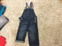 Джинсы и джинсовый полукомбинезон H&М