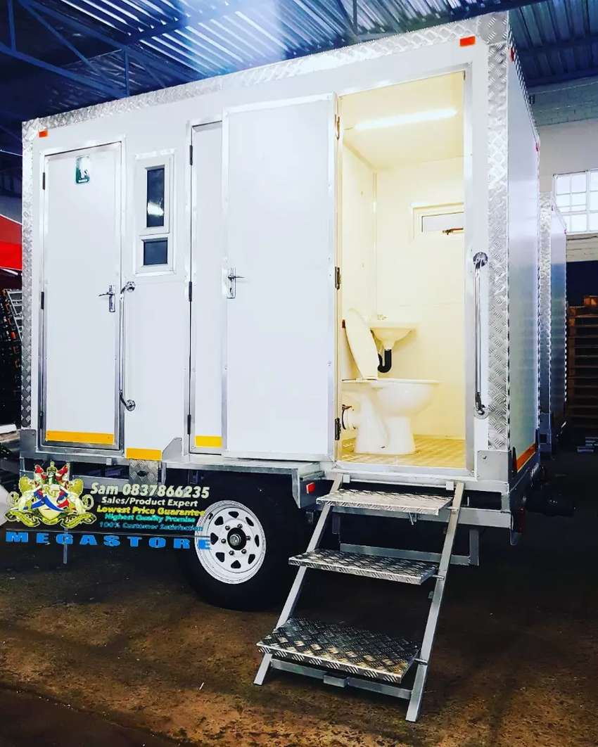 High Quality Large VIP Toilet and Mobile Freezer 0