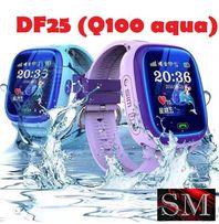 Smart Baby Watch DF25 (Q100 aqua, Q300), Умные детские часы с GPS