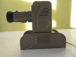 Диапроектор фильмоскоп Ф-49 СССР Танчик (Пушка) металлический