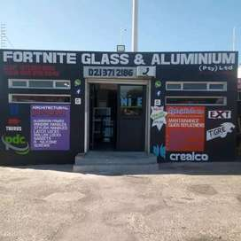 Fortnite construction glass and aluminum